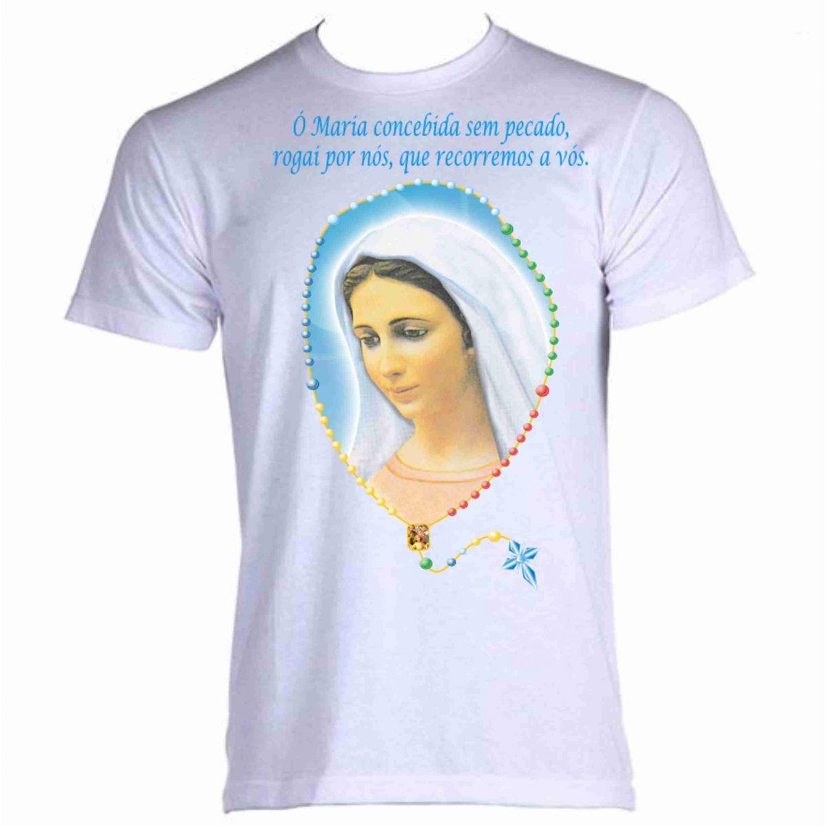 camiseta nossa senhora