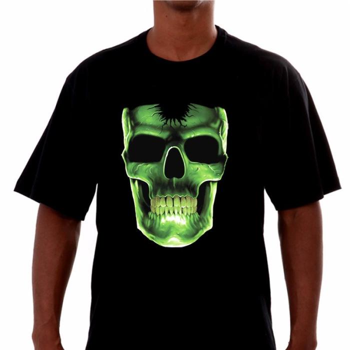 Camiseta Caveira  - Fábrica de Camisetas Impakto