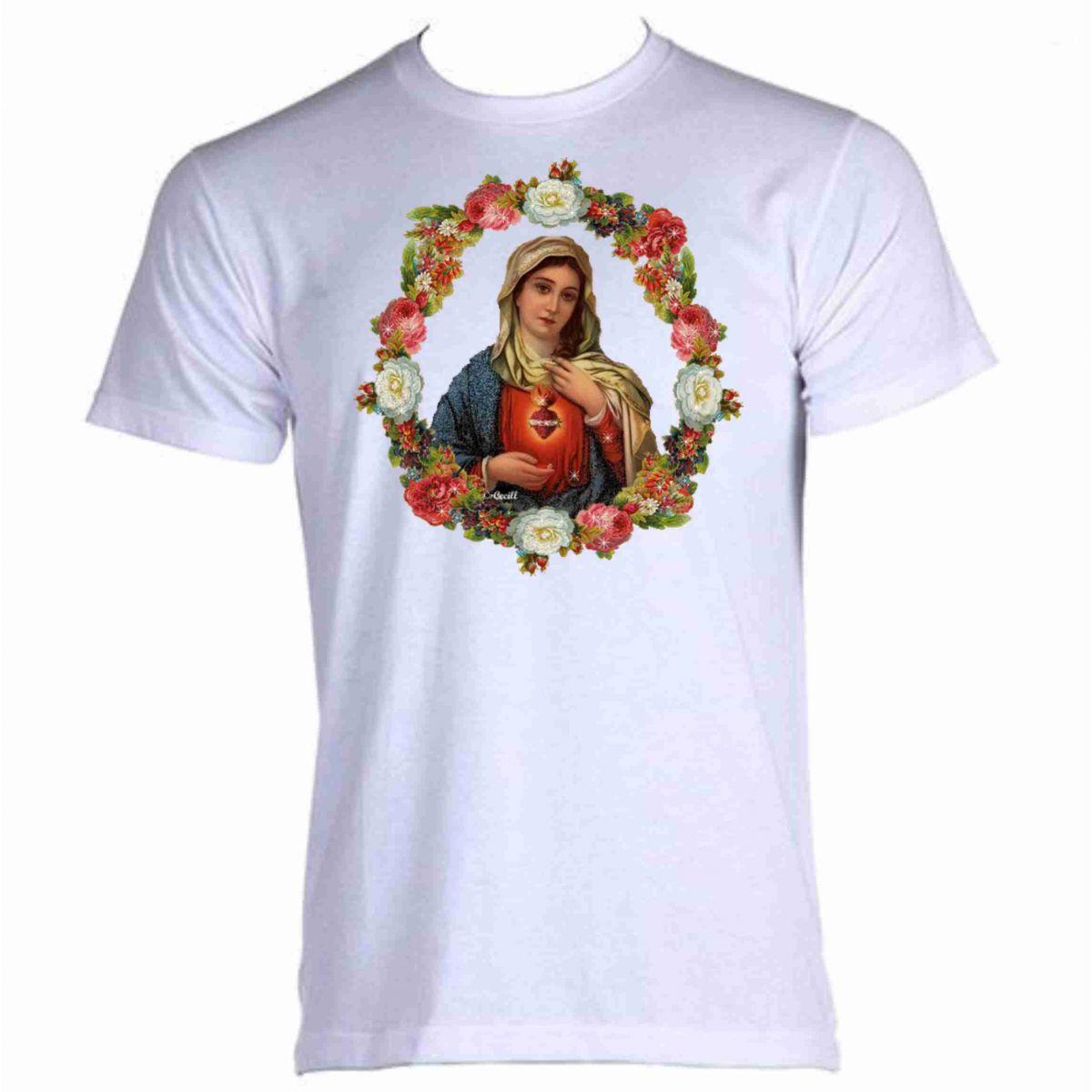 Camiseta Coração de Maria