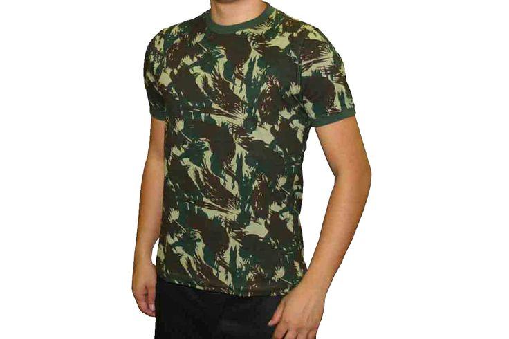 Camiseta Camuflada - Fábrica de Camisetas Impakto ... 689802592bb5c