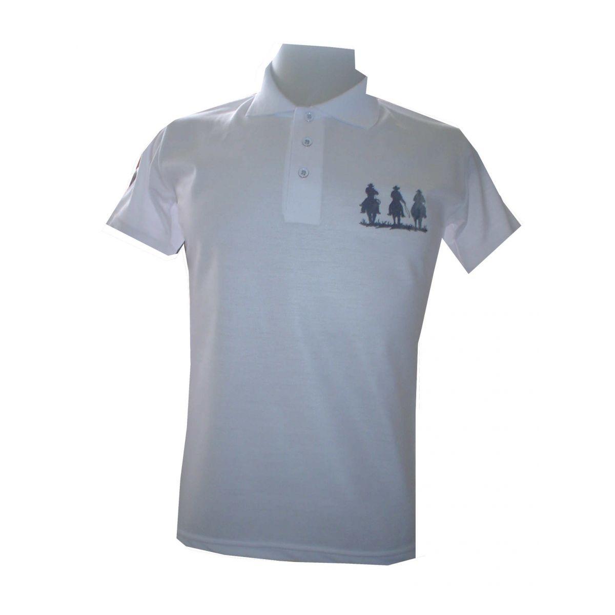 Camisa Polo com Estampa