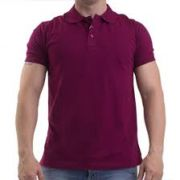 Camisa Polo Masculino vinho