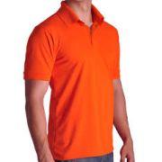 Camisa Polo Masculino laranja
