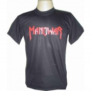 Camiseta BANDA MANOWAR - F�brica de Camisetas Impakto