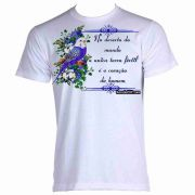 Camiseta Estampa Evangélica