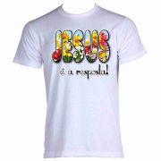 Camiseta Estampa religiosa