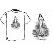 Camiseta Estampa de Iemanj�