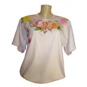 camiseta estampa flor - F�brica de Camisetas Impakto