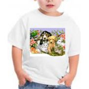 CAMISETA cachorrinhos