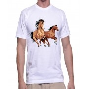 Camiseta cavalos