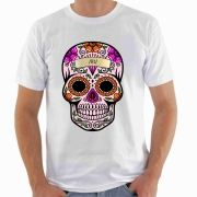 Camiseta Estampa Caveira