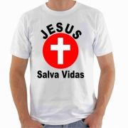 CAMISETA Jesus Salva