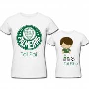 Camiseta Tal Pai  Tal Filho Palmeiras