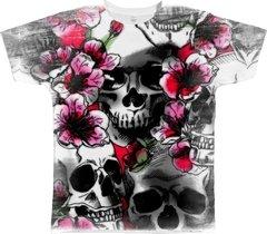 Camiseta Caveira Florida