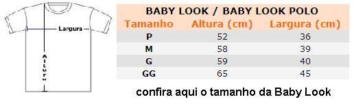 Baby Look Polo amarela
