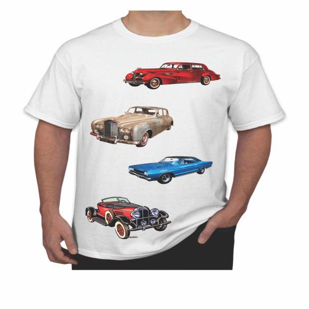 Camiseta carro antigo