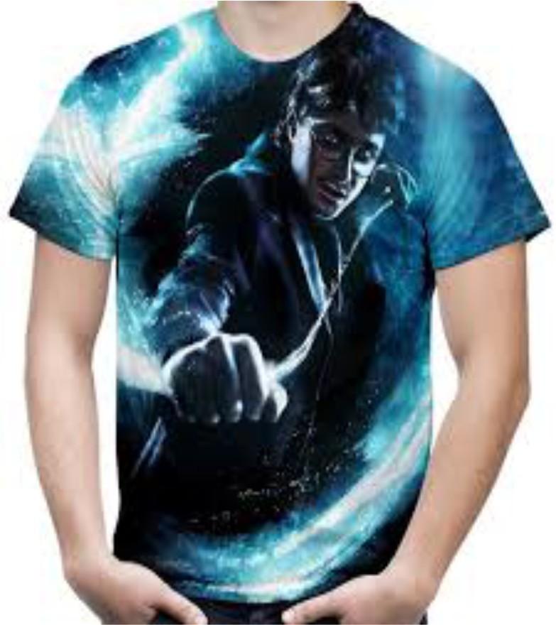 Camiseta estampa Harry Potter