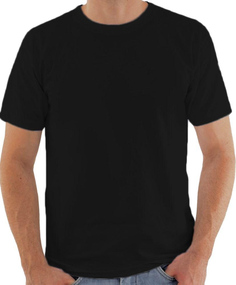 Camiseta Preta malha fria PV