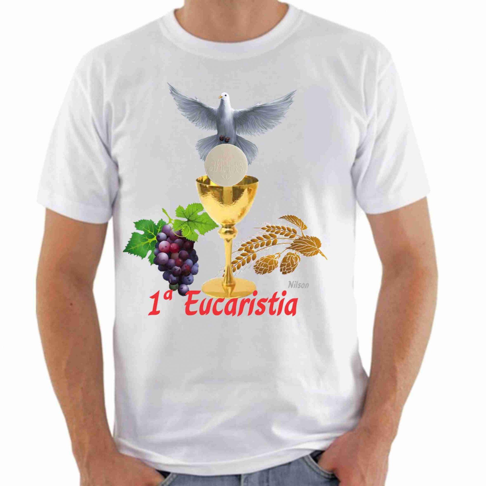 Camiseta religiosa eucaristia