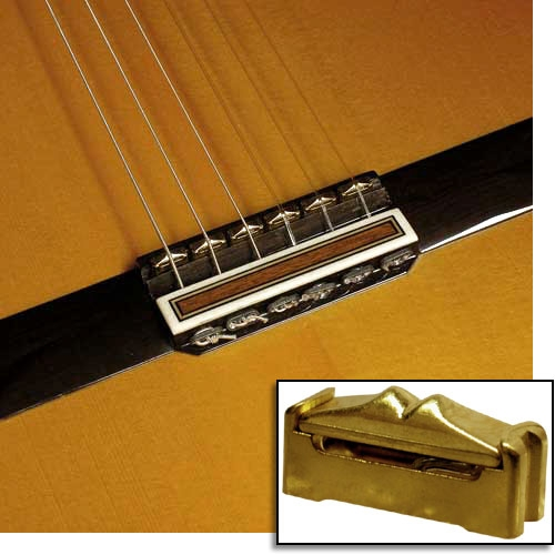 Captador RMC p/ Violão 6 cordas Flat/Maciço e Preamp interno PD401-17  - SOLO MUSICAL
