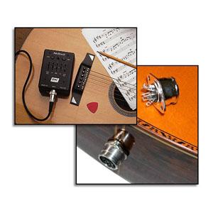 Captador RMC p/ Violão 12 cordas e Preamp externo PDII  - SOLO MUSICAL