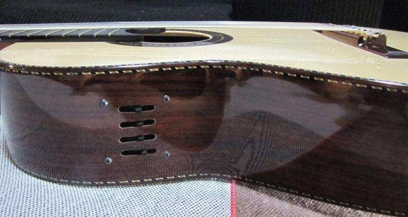 Captador RMC p/ Violão 6 cordas e Preamp interno BMT-220G  - SOLO MUSICAL