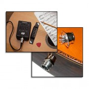 Captador RMC p/ Violão 6 cordas e Preamp externo PDII