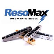 PONTE TUNE-O-MATIC RESOMAX / SADDLES DE GRAFITE / PRETO NIQUEL - GRAPHTECH
