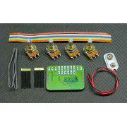 Captador RMC p/ Violão 6 cordas e Preamp interno BMT-222G