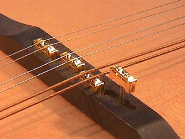 Captador RMC p/ Bandolim 10 cordas e Preamp externo PDII  - SOLO MUSICAL