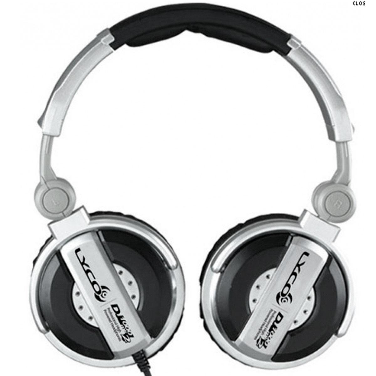 DJ1000MK2 - Fone de Ouvido Over-ear DJ 1000 MK2 - Lyco
