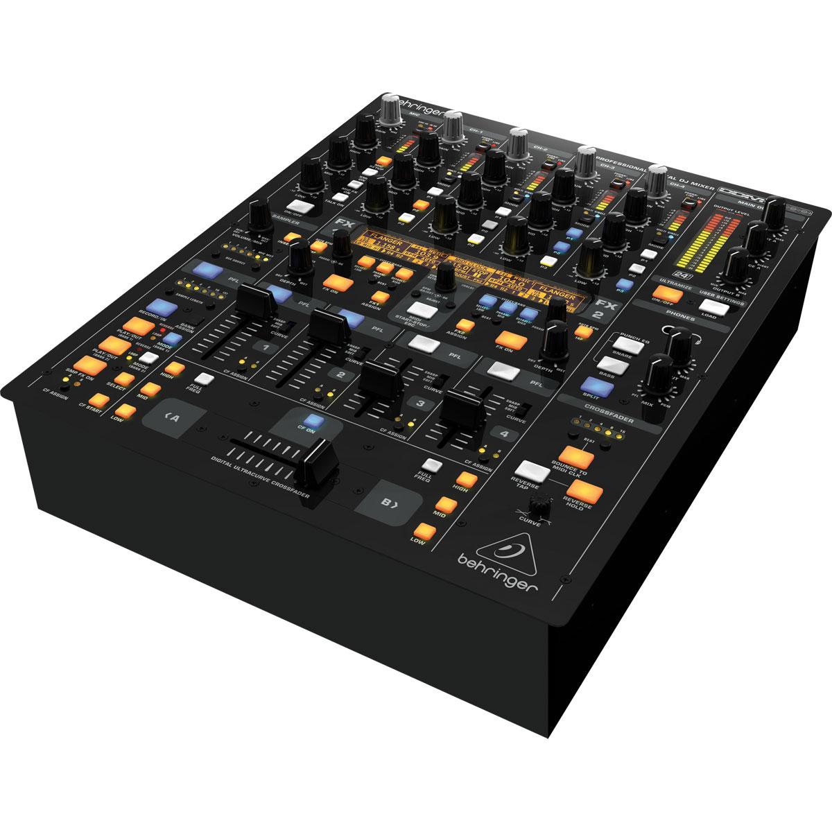 DDM4000 - Mixer DJ 5 Canais Digital DJ Mixer DDM 4000 - Behringer