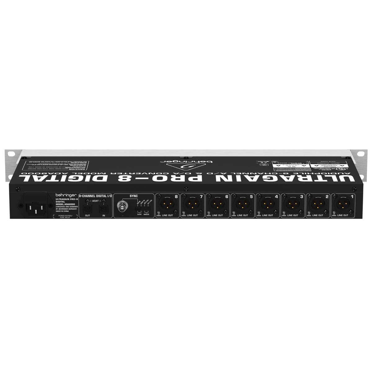 ADA8000 - Interface Ultragain PRO 8 Digital ADA 8000 - Behringer