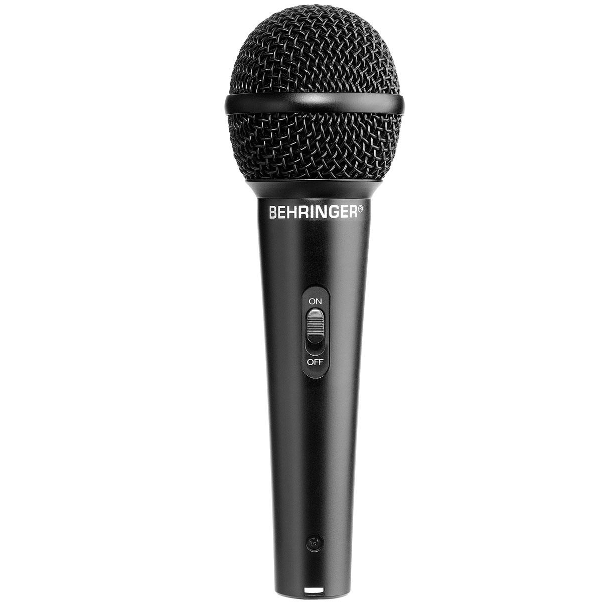 XM1800S - Kit 3 Microfones c/ Fio de Mão XM 1800 S - Behringer