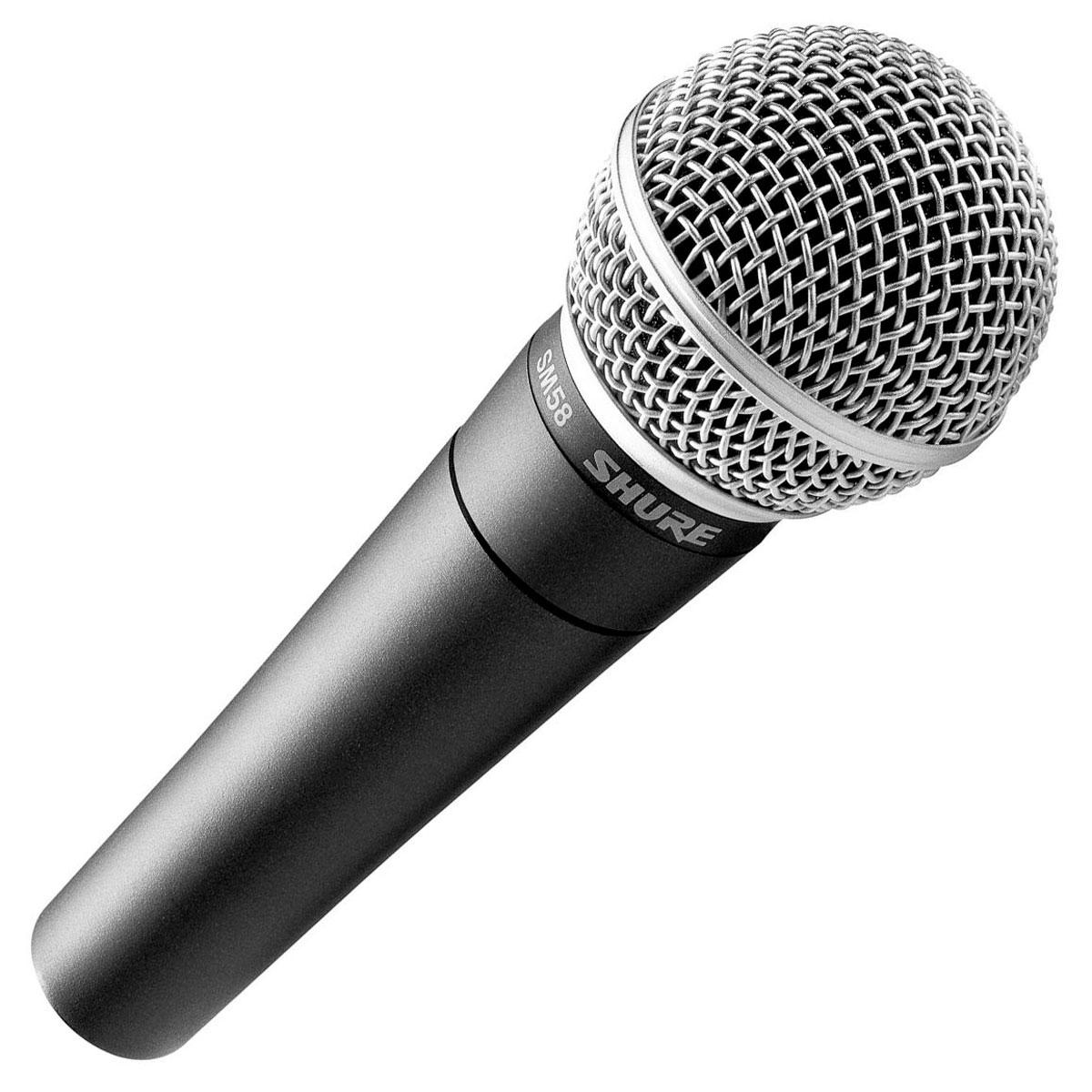 SM58LC - Microfone c/ Fio de Mão SM 58 LC - Shure