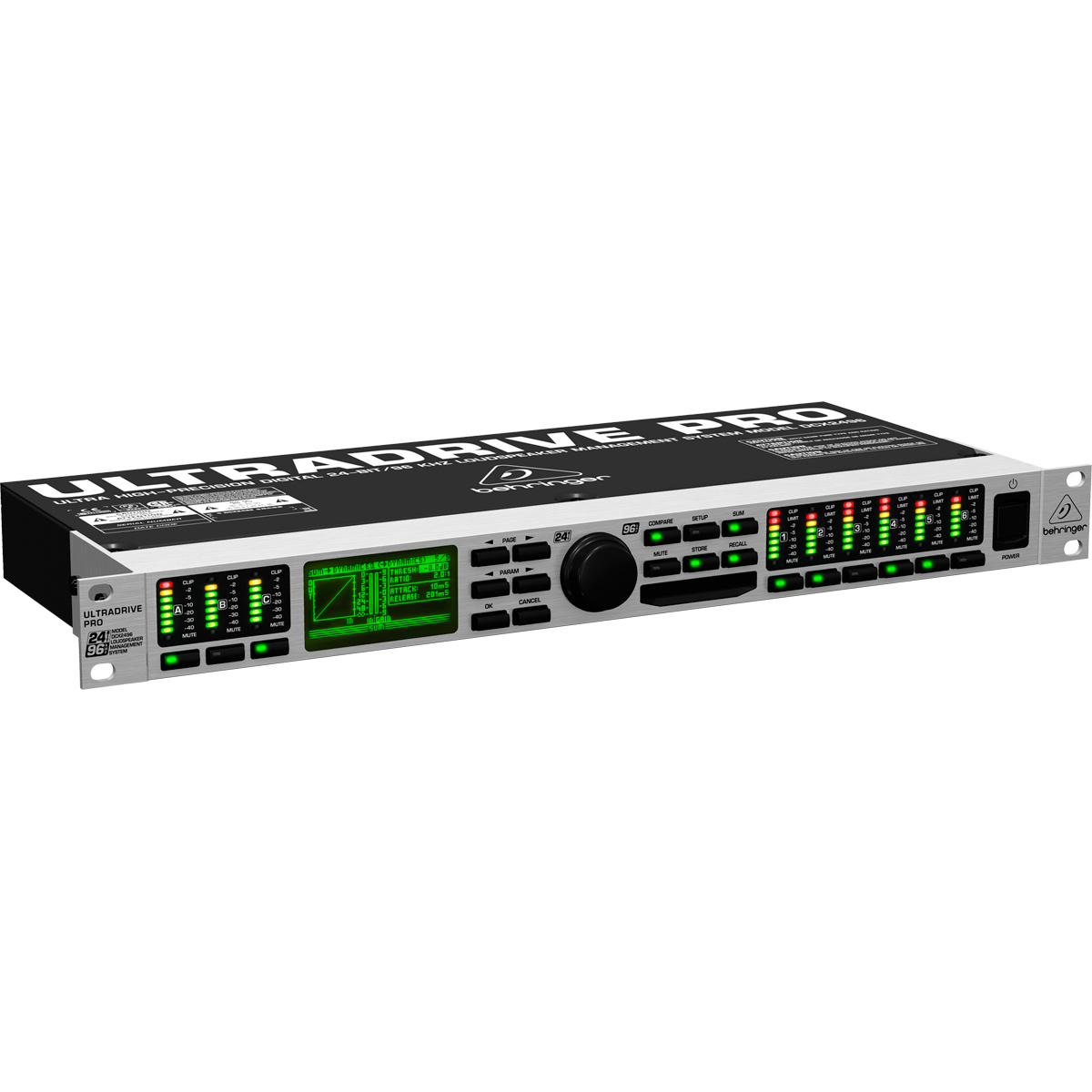 DCX2496 - Processador de �udio Ultradrive PRO DCX 2496 - Behringer