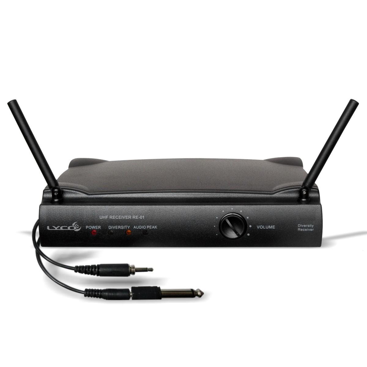 UH01M - Microfone s/ Fio de M�o UHF UH 01 M - Lyco