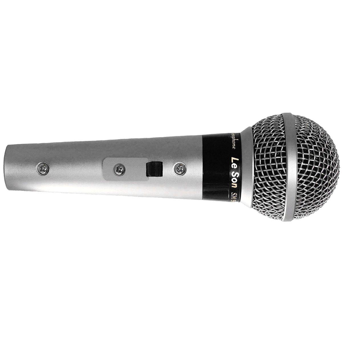 SM58P4 - Microfone c/ Fio de Mão SM 58 P4 - Le Son