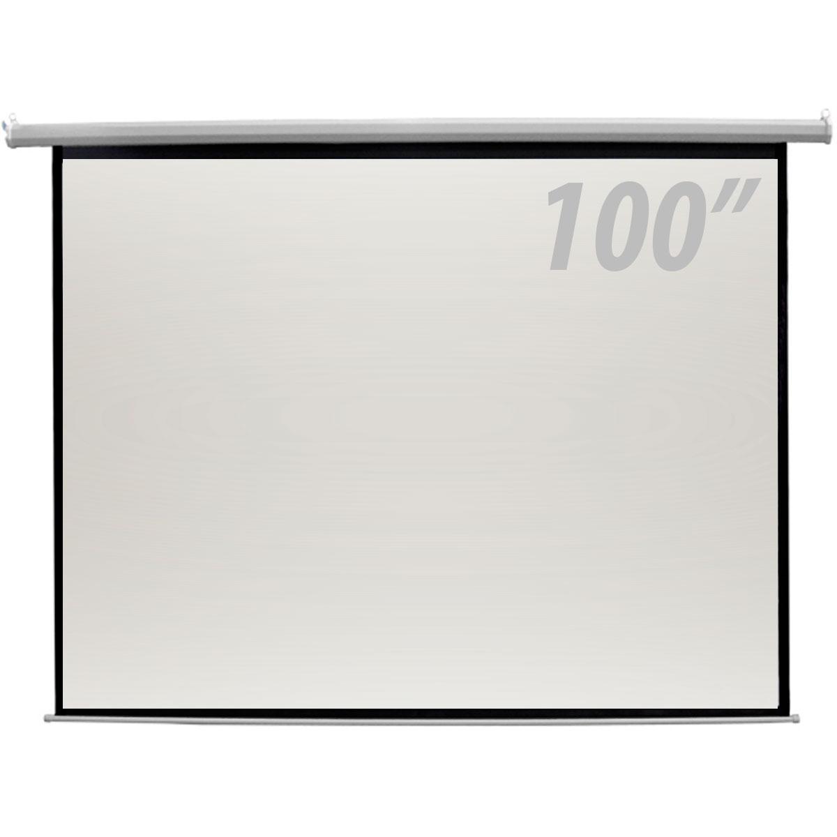 100 - Tela de Proje��o 100 Polegadas Retr�til - CSR