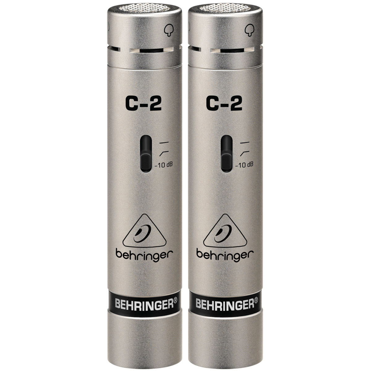 C2 - Microfone c/ Fio p/ Estúdio e Vocal C 2 ( Par ) - Behringer