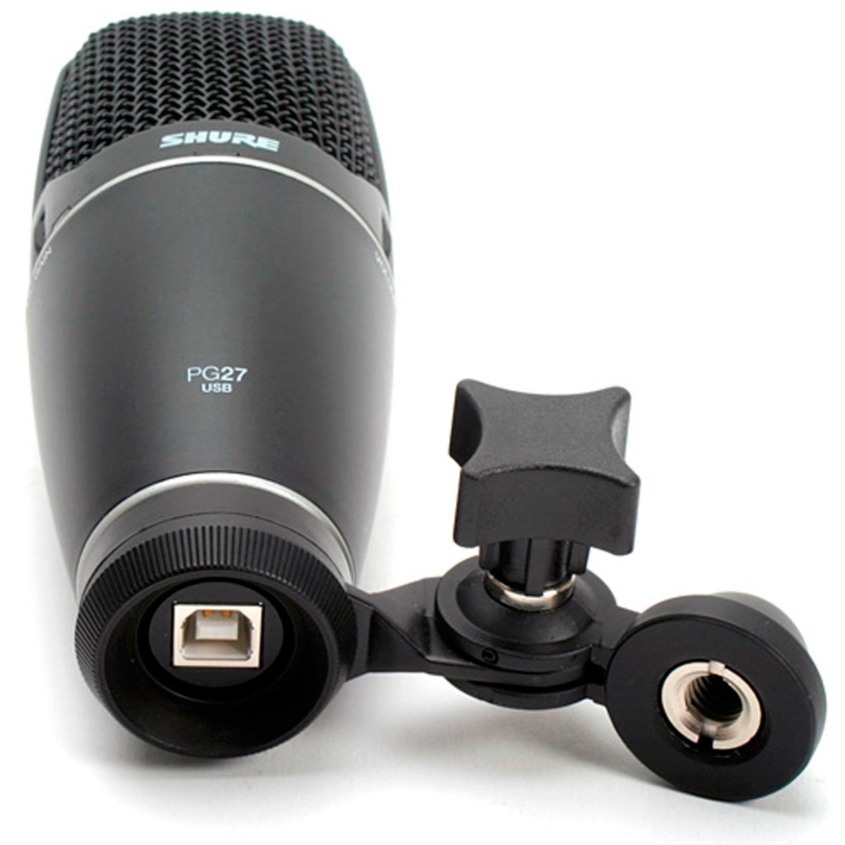 PG27USB - Microfone c/ Fio USB PG 27 USB - Shure