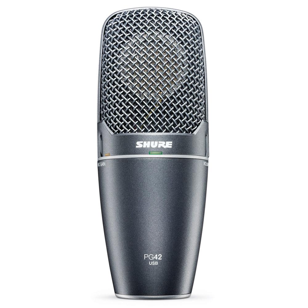 PG42USB - Microfone c/ Fio USB PG 42 USB - Shure