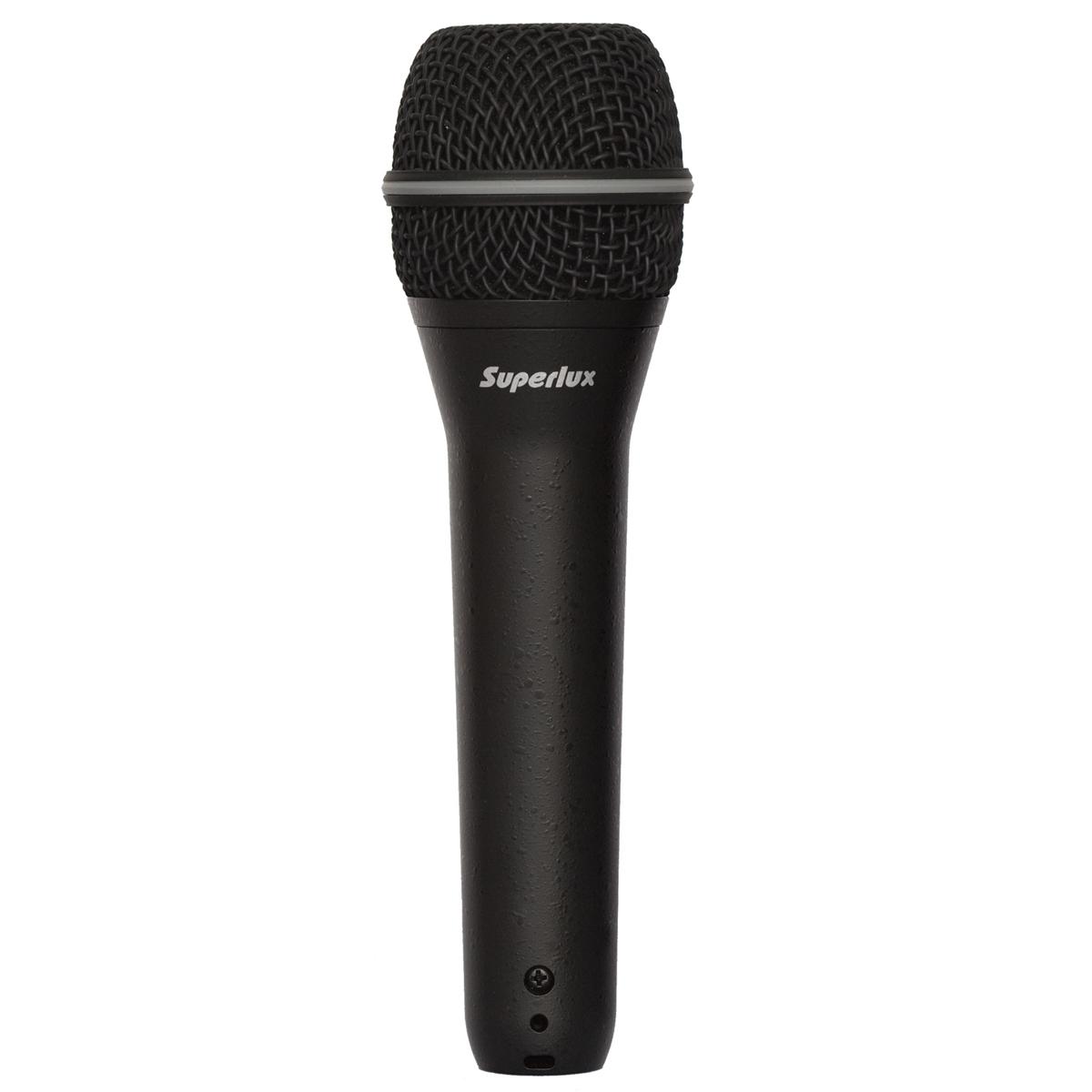 TOP258 - Microfone c/ Fio de Mão TOP 258 - Superlux