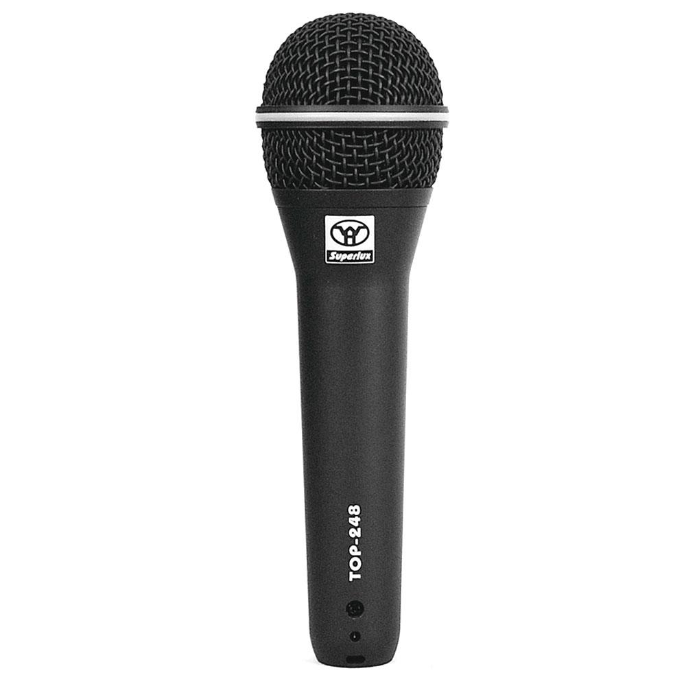 TOP248 - Microfone c/ Fio de Mão TOP 248 - Superlux