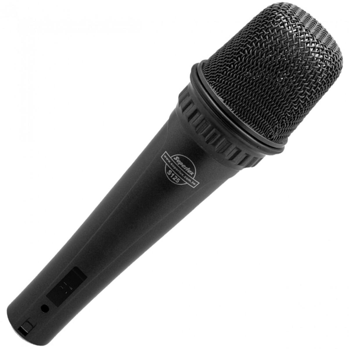 S125 - Microfone c/ Fio de Mão S 125 - Superlux
