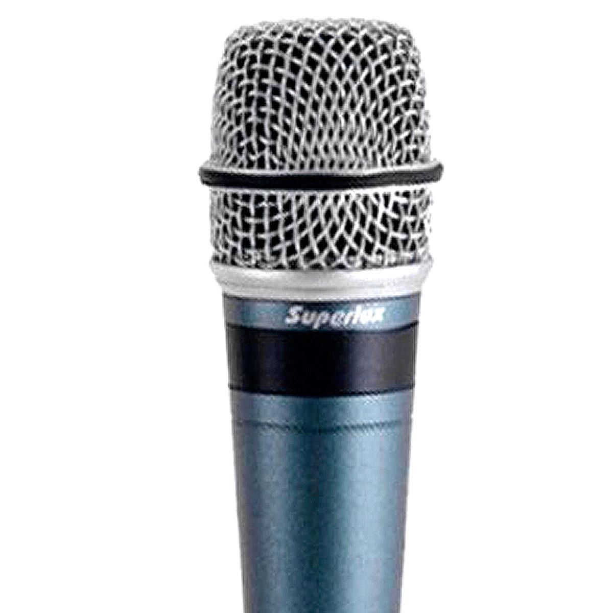 PRO258 - Microfone c/ Fio de M�o p/ Est�dio PRO 258 - Superlux