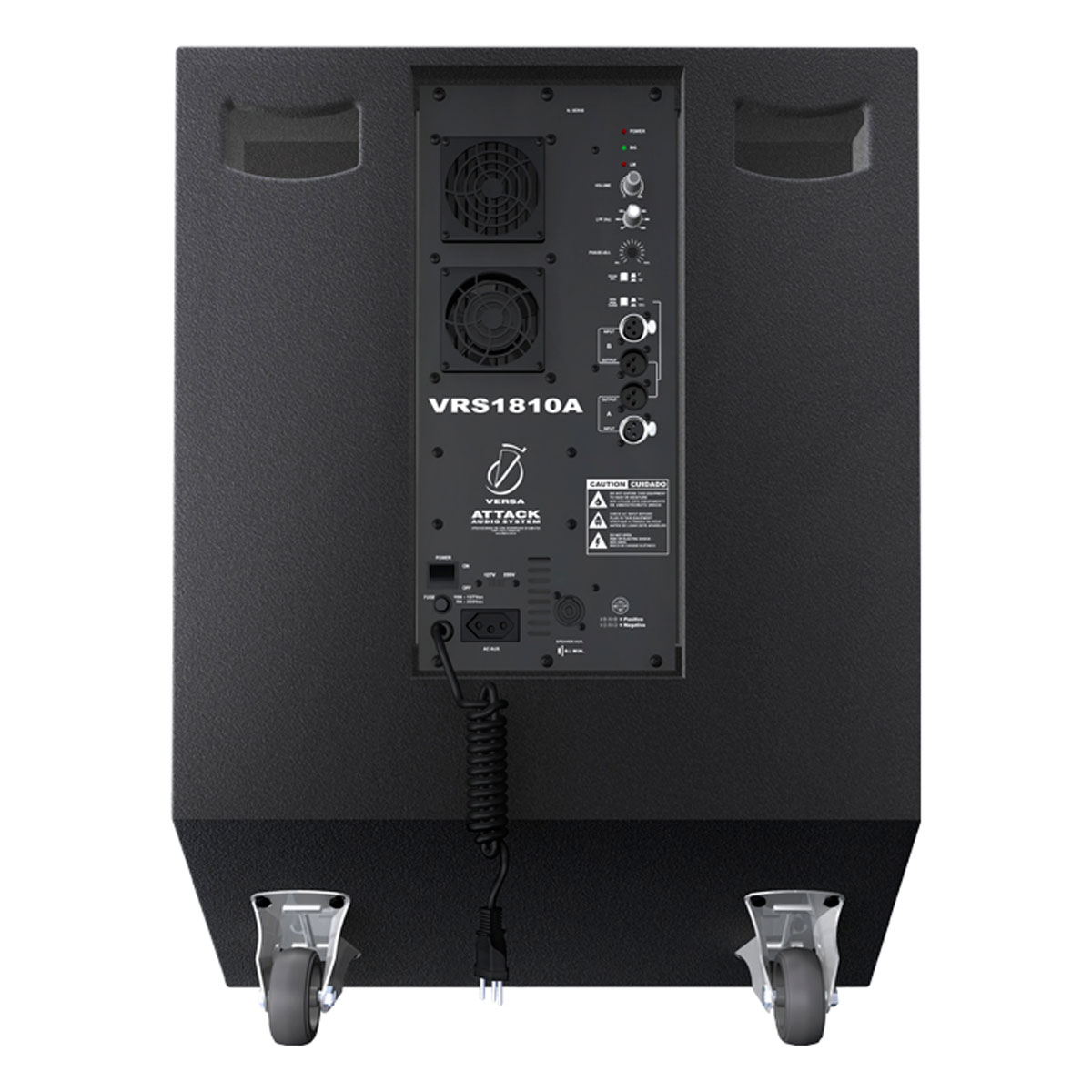 VRS1810A - Subwoofer Ativo 1000W VRS 1810 A - Attack