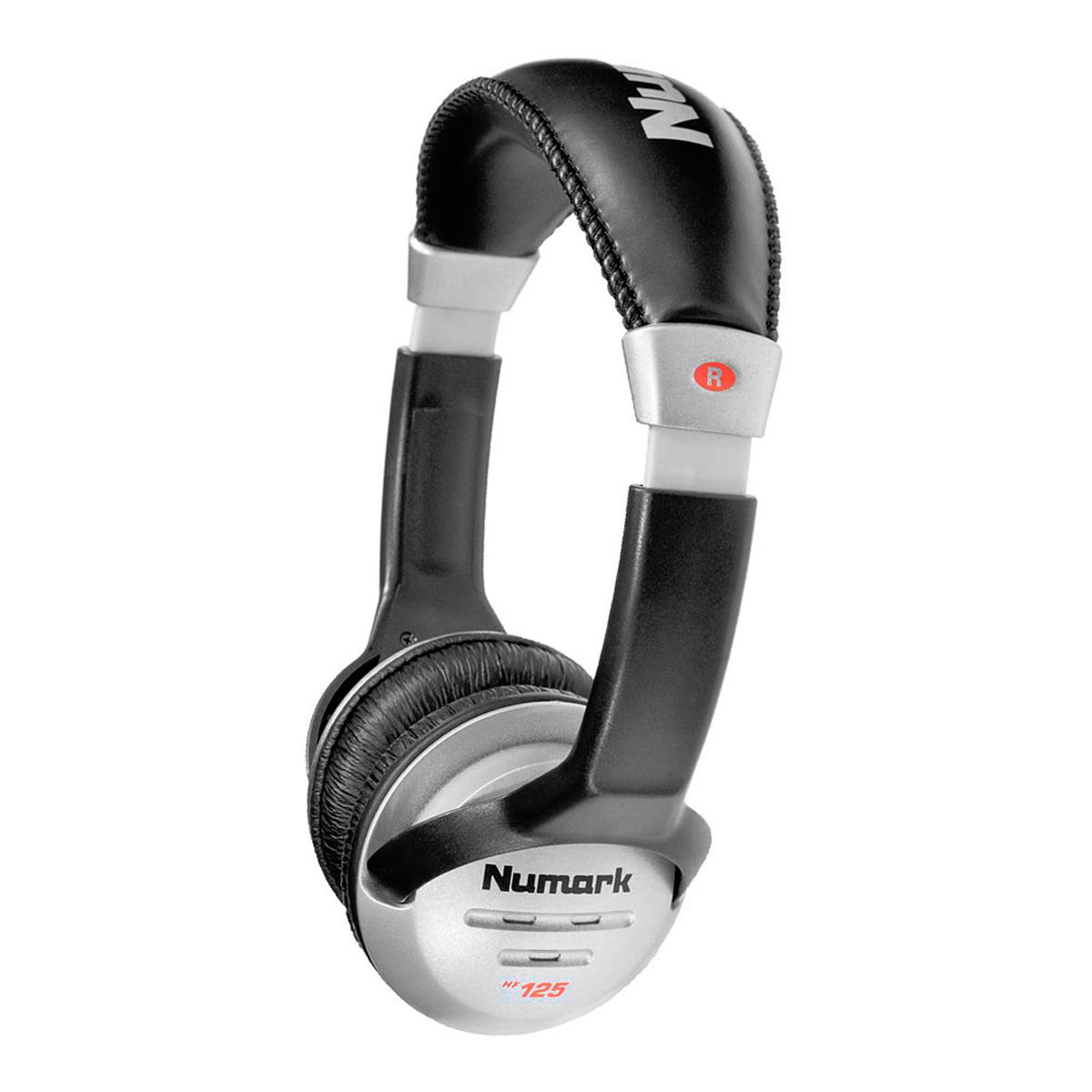 Fone de Ouvido On-ear 20 Hz - 20 KHz 32 Ohms - HF 125 Numark
