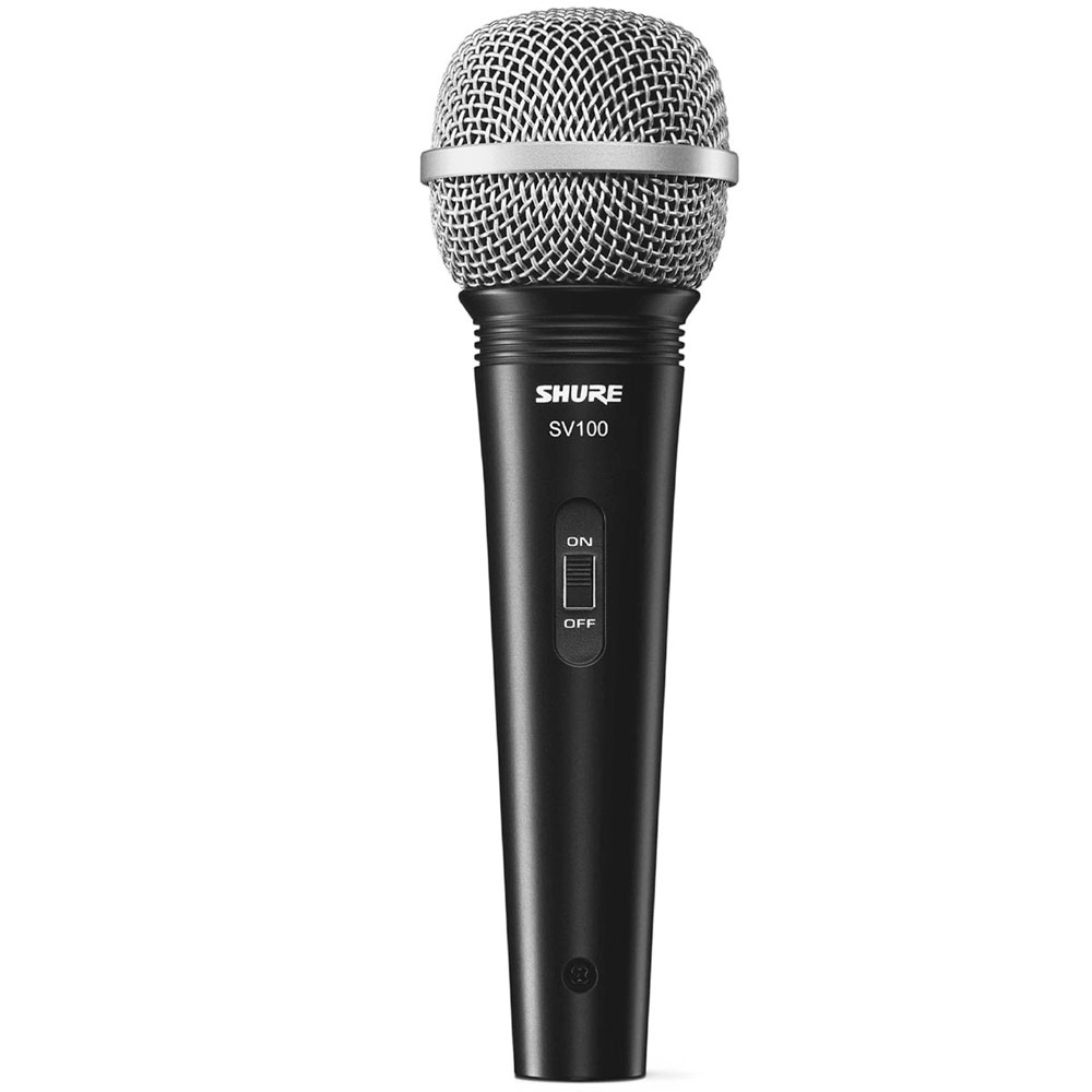 SV100 - Microfone c/ Fio de Mão SV 100 - Shure
