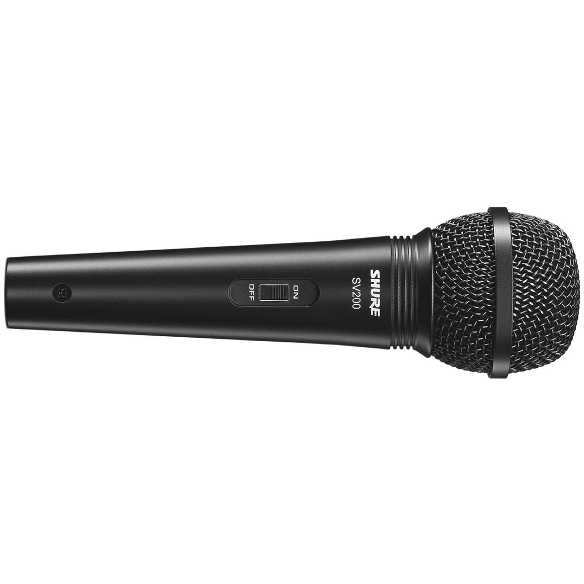 SV200 - Microfone c/ Fio de Mão SV 200 - Shure